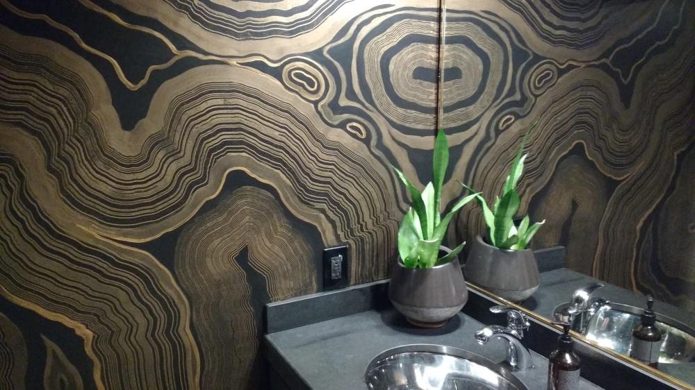 wall finish - james derieg - decorative painter