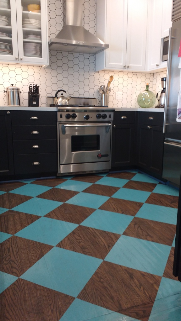 decorative floor finish - james derieg - decorative painter